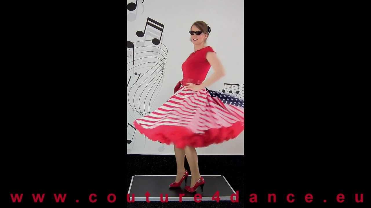Tellerrock / Circleskirt Stars & Stripes