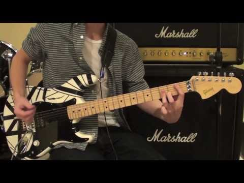 Unchained by Van Halen Guitar Cover - Most Accurate Version on Youtube