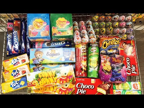 A Lot Of Candy 2018 NEW #63 Киндер...