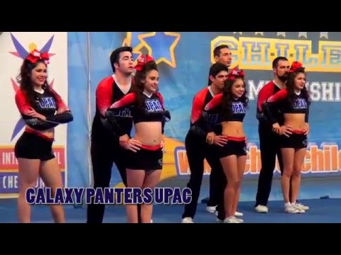 Upac Galaxy Panthers 2015 Cheer Chile