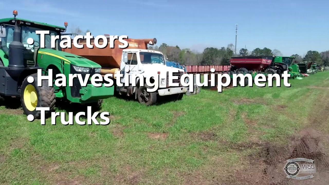 Retirement Liquidation Auction- Leesburg, Georgia | Weeks