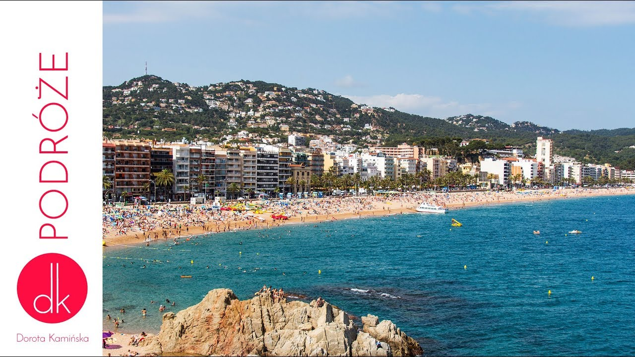 lloret de mar wakacje na costa brava w hiszpanii dorota kami ska youtube. Black Bedroom Furniture Sets. Home Design Ideas