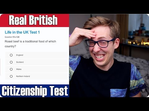 American Takes REAL British Citizenship Test | Evan Edinger