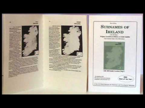 Caldwell Family History; Surnames In Ireland; Argentina Irish; OS Maps IF #166