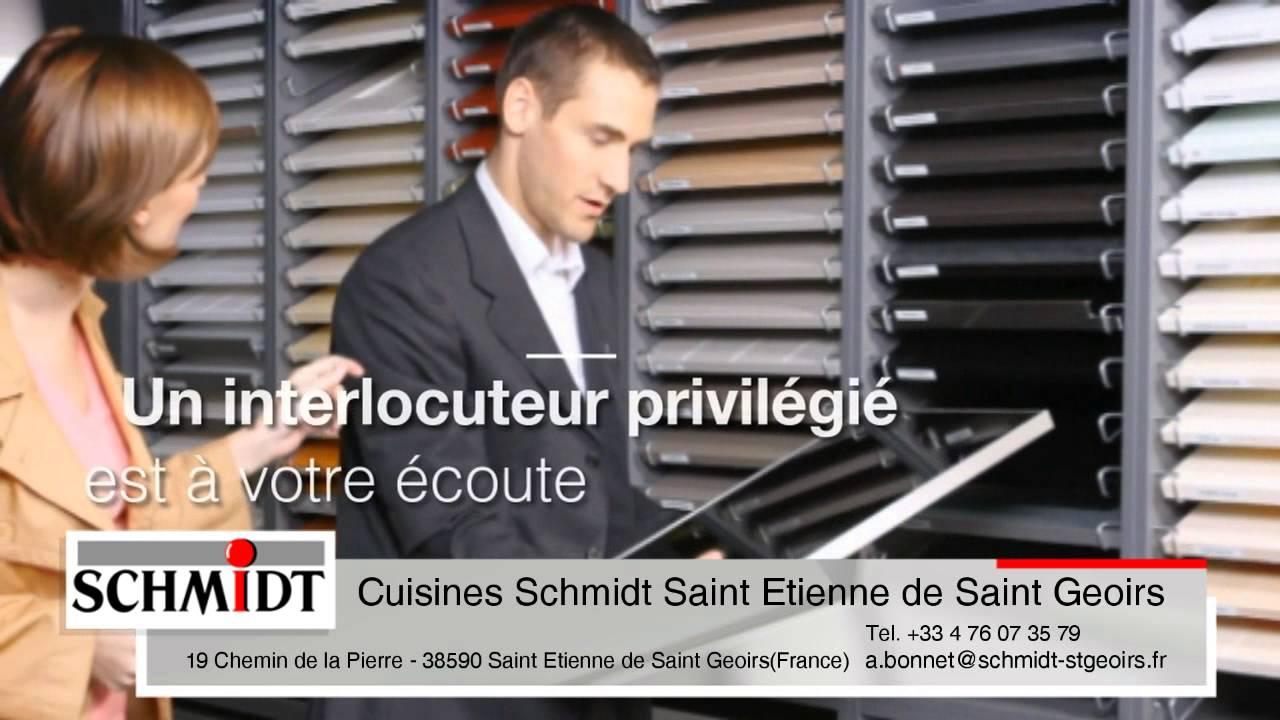 magasins de cuisines quip es schmidt cuisinistes saint etienne de saint geoirs youtube. Black Bedroom Furniture Sets. Home Design Ideas