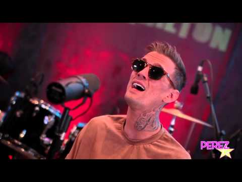 "Aaron Carter ""Fools Gold"" (Perez Hilton Exclusive Acoustic Performance!)"