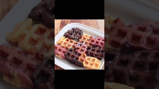 와플팬으로 붕어빵 누르기 #간단요리 #와플메이커 #와플…