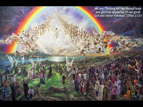 THE HOST OF HEAVEN IS HERE TO RAPTURE US!!!!!!!!