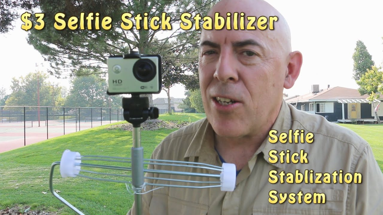 turn your selfie stick into a steadicam for only 3 youtube. Black Bedroom Furniture Sets. Home Design Ideas