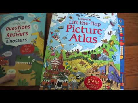 Which Usborne LIFT THE FLAP book is best for my child?!?!?