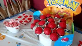 Pokémon  party setup