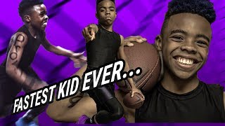 Bunchie Young. The 11 Year Old Football Phenom Takes Us Through His INSANE WORKOUTS & Epic Life!