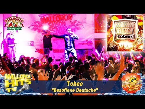 Tobee - Besoffene Deutsche - Mallorca Party Hits