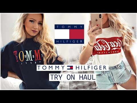 TOMMY HILFIGER TRY ON HAUL