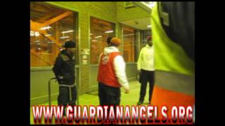 GUARDIAN ANGELS ARREST 2 MEN FOR A STRONG ARM ROBBERY ON THE CTA RED LINE ADDISON STATION 2/8/11