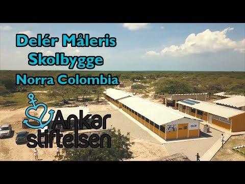 Construction of Delér Måleri's school in north Colombia