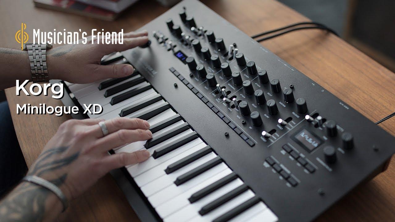 minilogue xd Polyphonic Analog Synthesizer Black