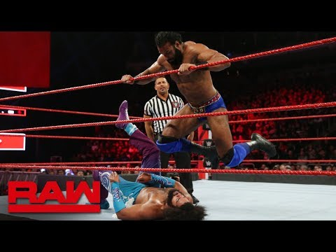 No Way Jose vs. Jinder Mahal: Raw, Nov. 26, 2018