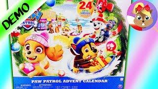 *NOWOŚĆ 2018* PAW PATROL kalendarz adwentowy - otwarcie wszystkich 24 drzwiczek! Święta w Adventure