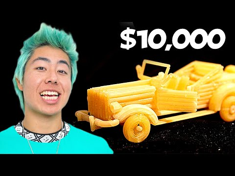 Best Macaroni Art Wins $10,000 Challenge! | ZHC Crafts