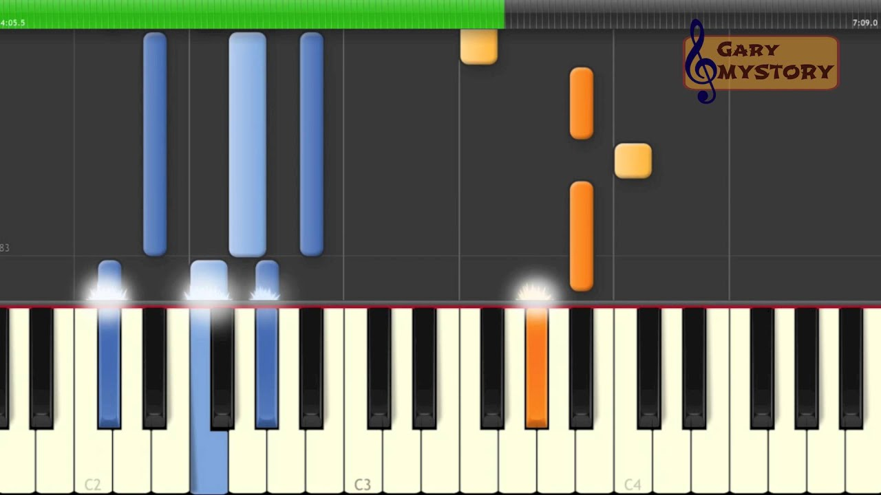 adele easy piano tutorial video keyboard lesson with free : Piano ...