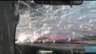 Newfoundland Targa 2006 - In-Car video of crash