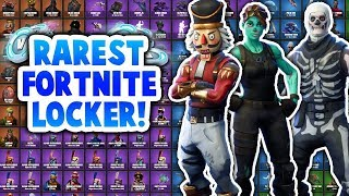 RAREST FORTNITE ACCOUNT SHOWCASE?! (SKULL TROOPER AND MORE) | OVER $1000?!