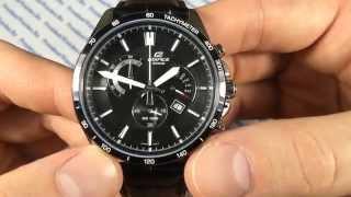 Часы Casio EDIFICE EFR-510L-1A - видео обзоры наручных часов от PresidentWatches.Ru(Из видео становится ясно, почему надо купить Casio EDIFICE EFR-510L-1) PresidentWatches.Ru - http://presidentwatches.ru/ Casio EDIFICE EFR-510L-1A ..., 2014-05-04T14:31:49.000Z)