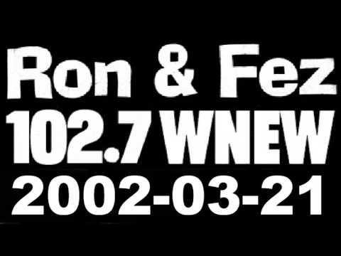 Ron & Fez WNEW 2002-03-21