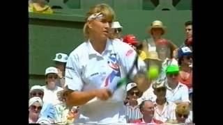 1993 Wimbledon Final Steffi Graf vs Jana Novotna Part 1