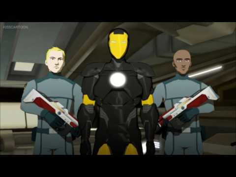 Ironman meets nick fury (Ironman:Armored Adventures)