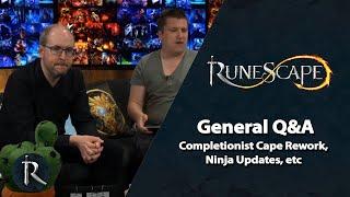 RuneScape General Q&A - Comp Cape, Ninja updates