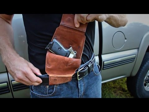 The Official Urban Carry Total Concealment Holster