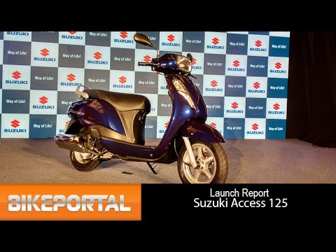 2016 Suzuki Access 125 First Look - Bikeportal