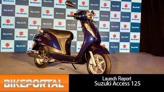 2016 Suzuki Access 125 First Look - Bikeportal
