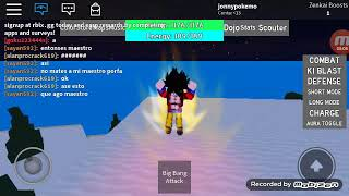Roblox- Dragon ball rage- a Internet me abandonou