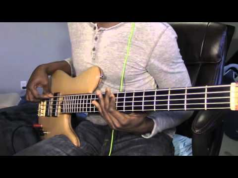 Deeper- Marvin Sapp (Bass Cover)