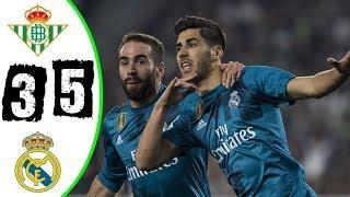 Betis 3-5 Real Madrid | Goles | COPE | Liga 2017/2018