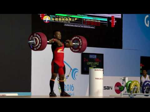 Yeison Lopez (77) - 190kg Clean and Jerk Youth World Record
