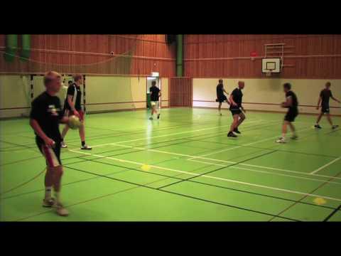 Handball training in Sweden July 28, 2010