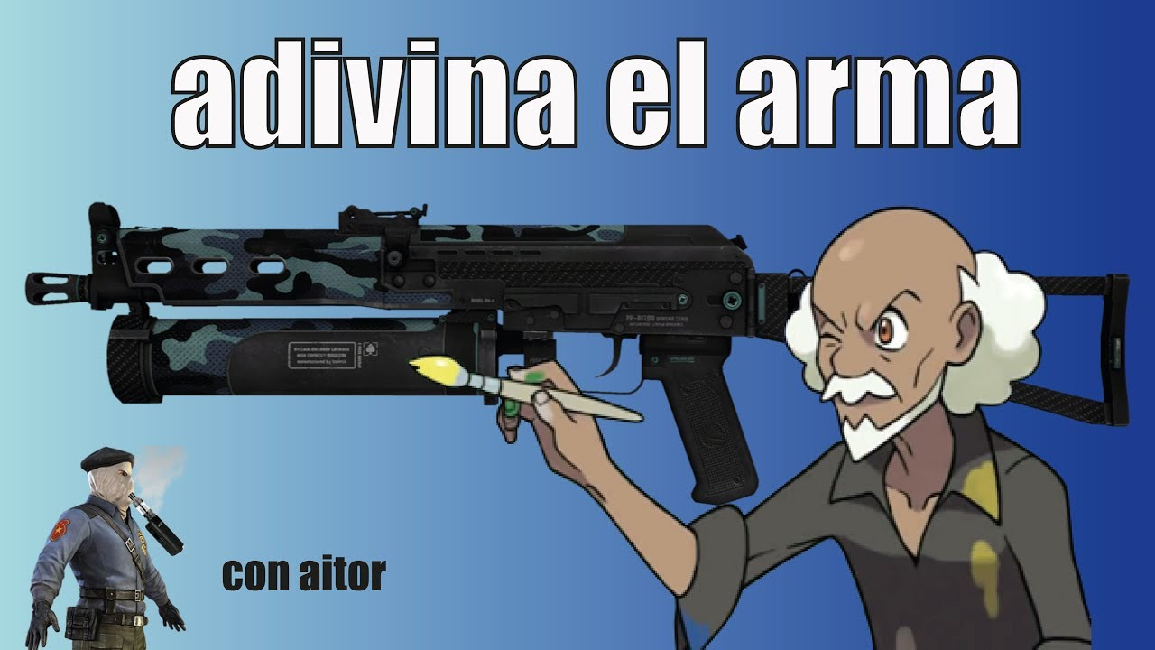DIBUJANDO ARMAS DE CSGO! VAYA CUADROS... - YouTube