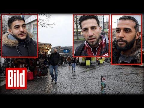 So groß ist der Hass auf Israel bei jungen Arabern - Umfrage in Berlin-Neukölln