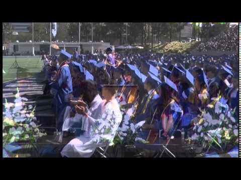 Valley High School Commencement Santa Ana Ca 2014 Sausd