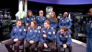2013 Astronaut Class Talks STEM at Smithsonian Air and Space Museum