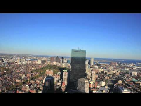 Boston views from Prudential tower