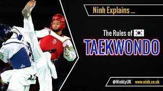 The Rules of Taekwondo (new 2017 Rules) - EXPLAINED