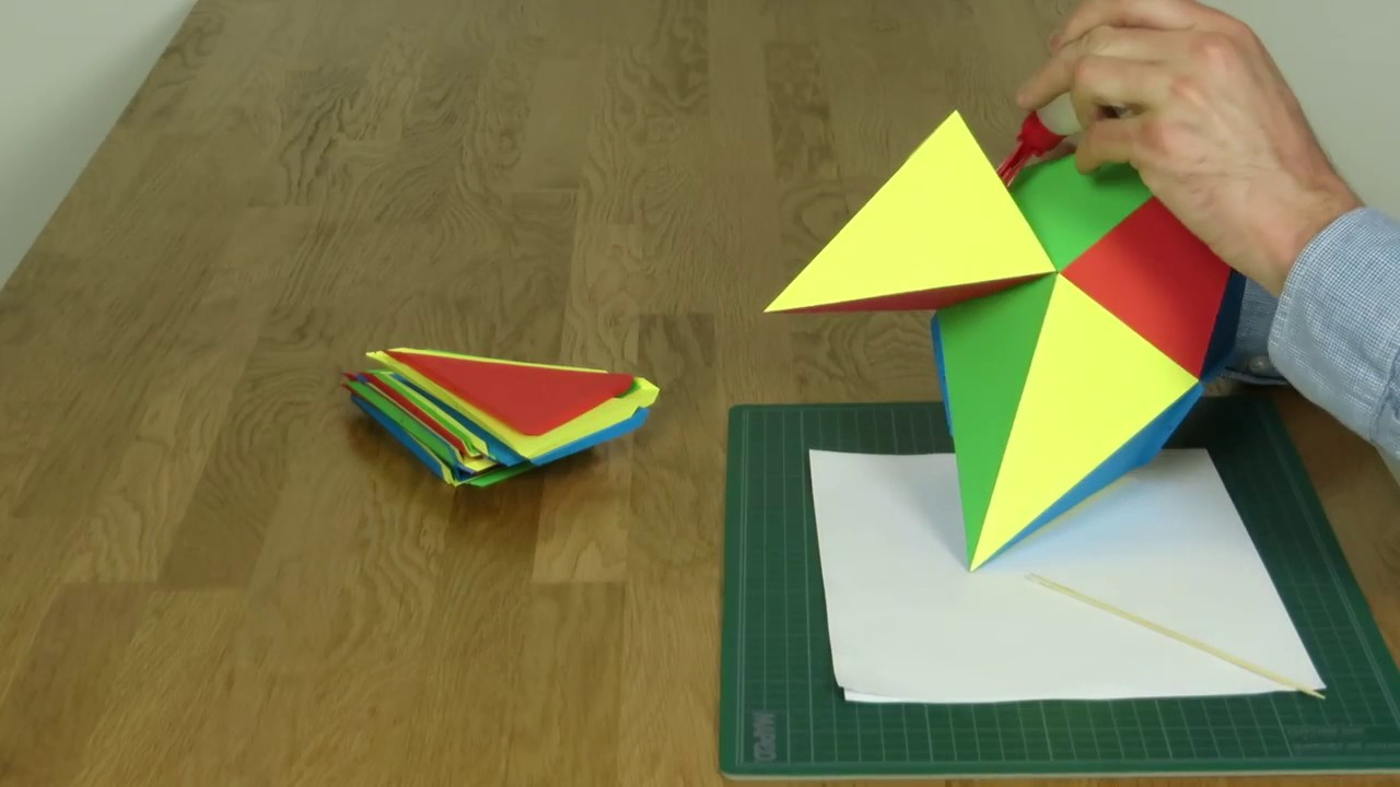 How to Make a Paper Pyramid: 15 Steps (with Pictures ...