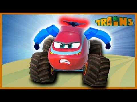 Superhero Morphle / Trains for children / Dinosaur and Trains /  Animation episodes for kids