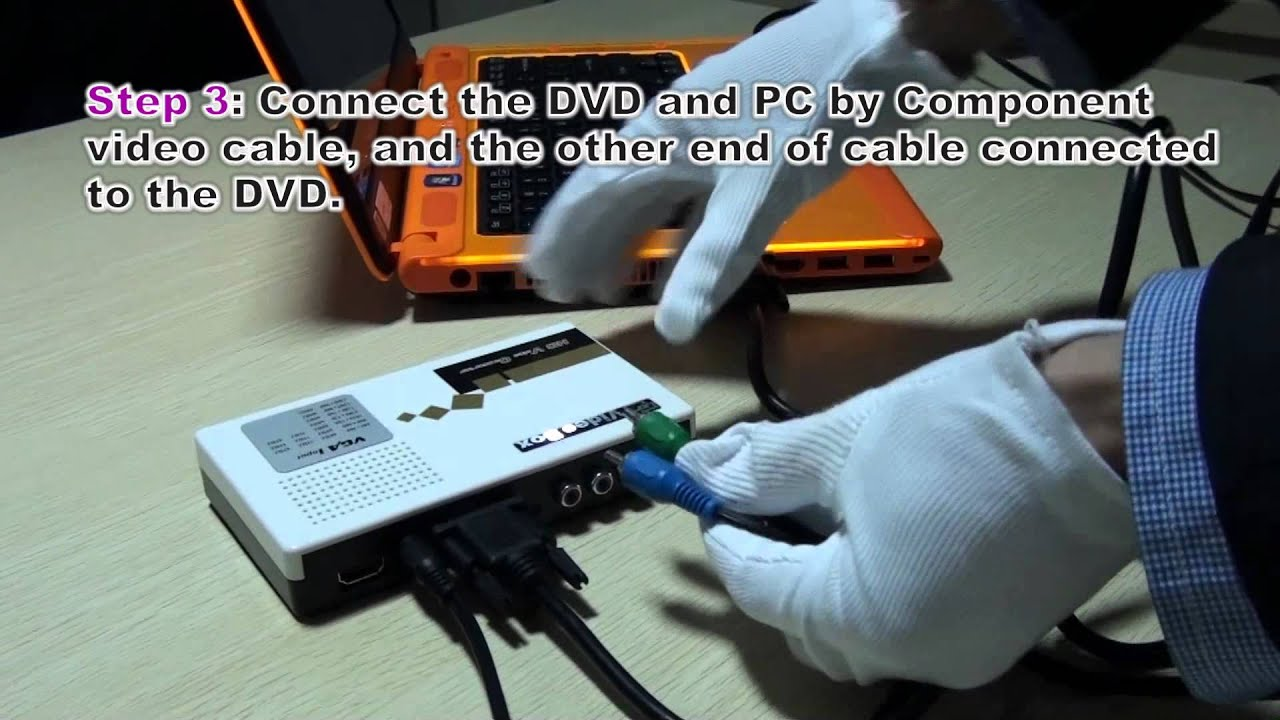 VGA and Component to HDMI Scaler - YouTube