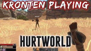 KRONTEN PLAYING HURTWORLD | SURVIVAL GAME | AAJ TO SHIKAR KARUNGA MAI 😍